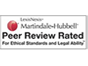 Peer Review Rated Criminal Defense Attorney